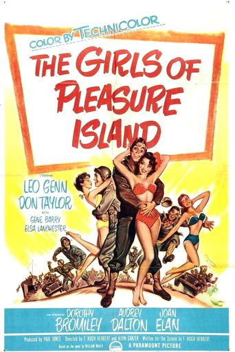 The Girls of Pleasure Island Poster