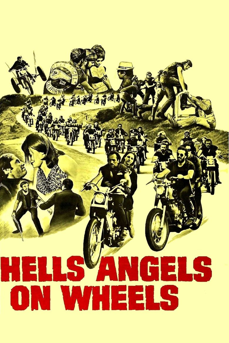 Hells Angels on Wheels Poster
