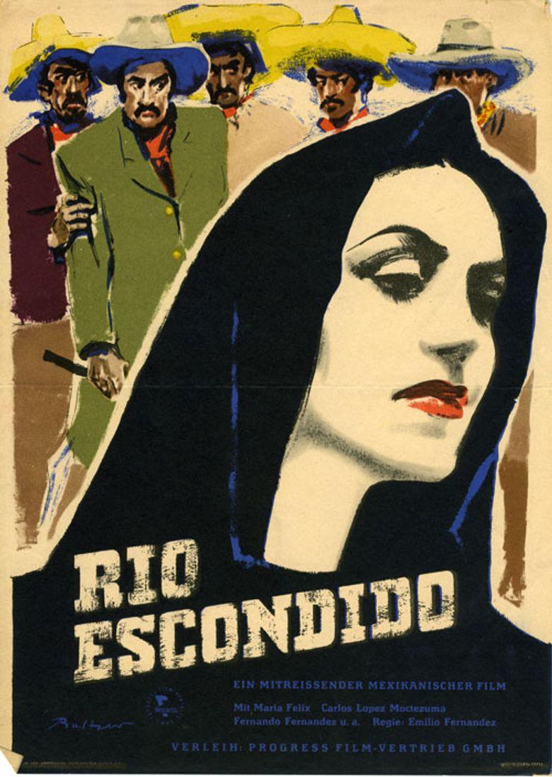 Río Escondido Poster