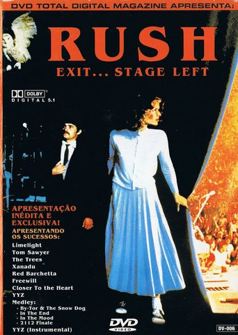 Rush: Exit... Stage Left Poster