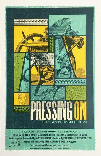 Pressing On: The Letterpress Film Poster
