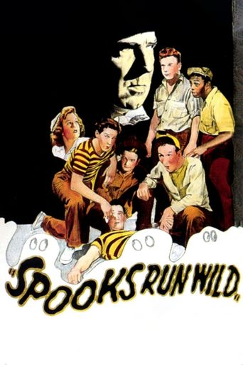 Spooks Run Wild Poster