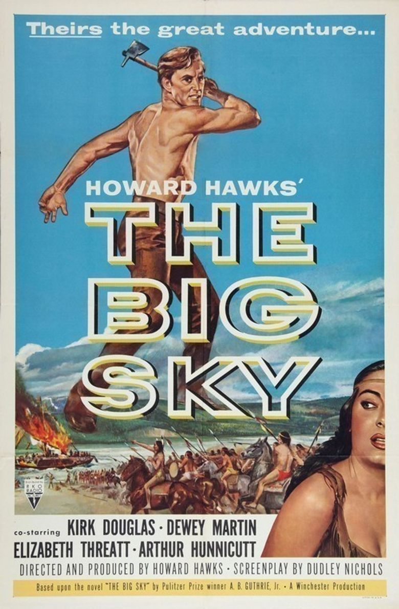 The Big Sky Poster