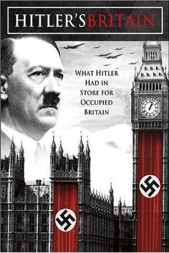 Hitler's Britain Poster