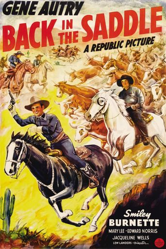 Back in the Saddle Poster