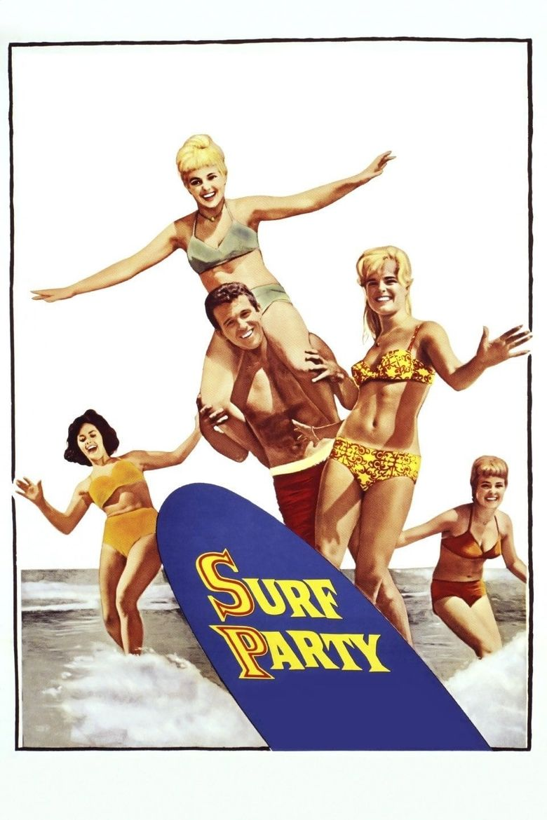 Surf Party Poster