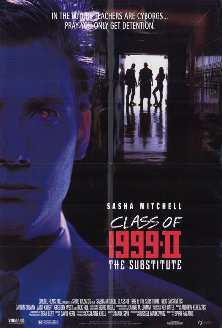 Class of 1999 II - The Substitute Poster