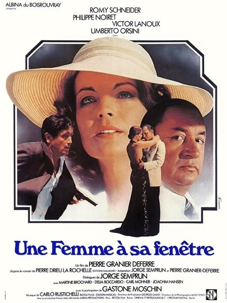 A Woman at Her Window Poster