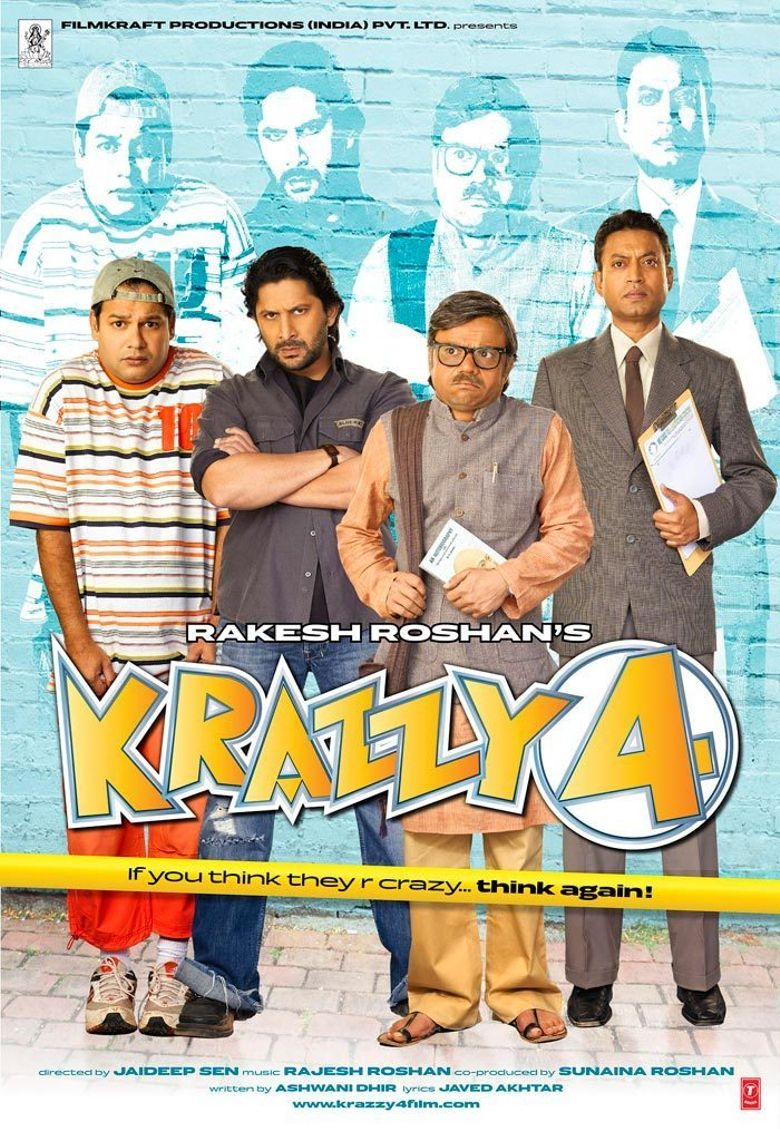 Krazzy 4 Poster