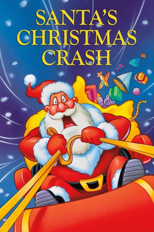 Santa's Christmas Crash Poster