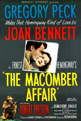 The Macomber Affair Poster