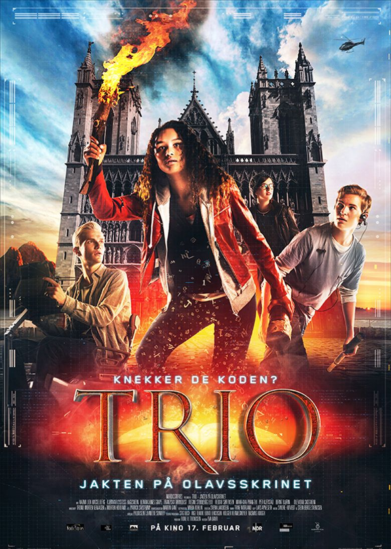 TRIO - The Hunt for the Holy Shrine Poster
