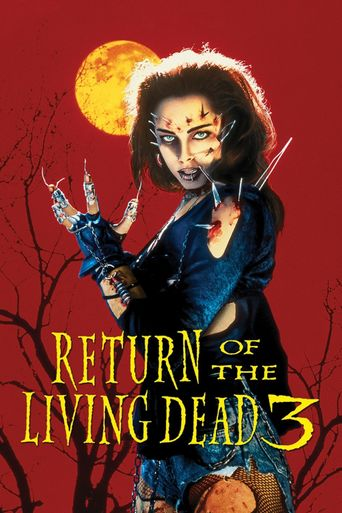 Return of the Living Dead III Poster