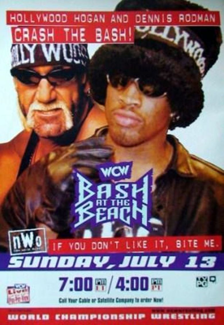 WCW Bash at the Beach 1997 Poster