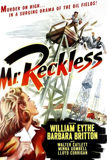 Mr. Reckless Poster