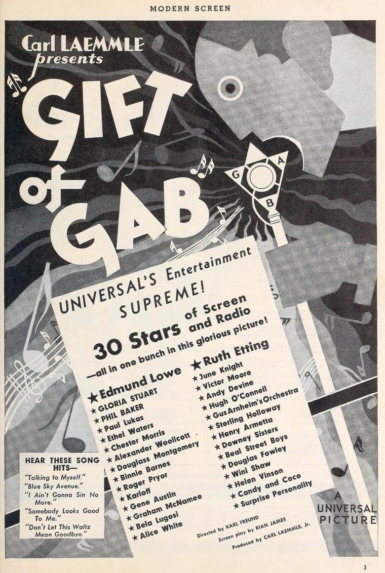 Gift of Gab Poster