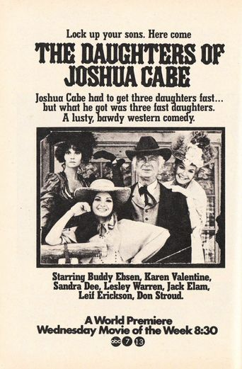 The Daughters of Joshua Cabe Poster