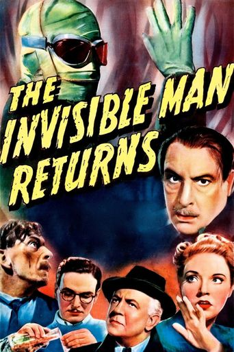Watch The Invisible Man Returns