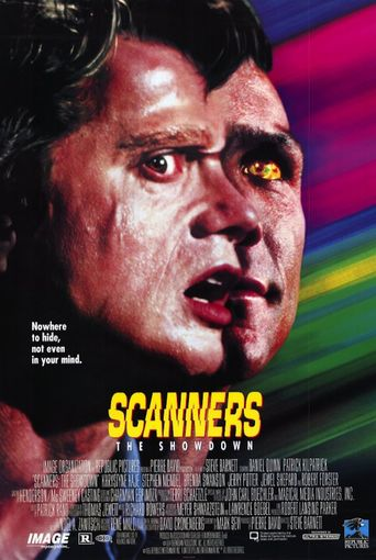 Scanners: The Showdown Poster