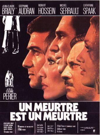 A Murder Is a Murder Poster