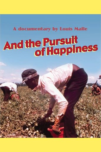 ...And the Pursuit of Happiness Poster