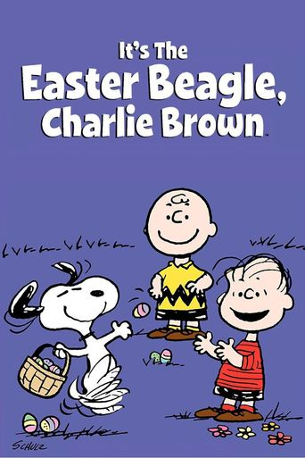 It's the Easter Beagle, Charlie Brown Poster