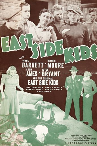 East Side Kids Poster