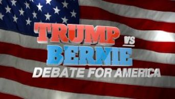 Trump vs. Bernie: Debate for America Poster