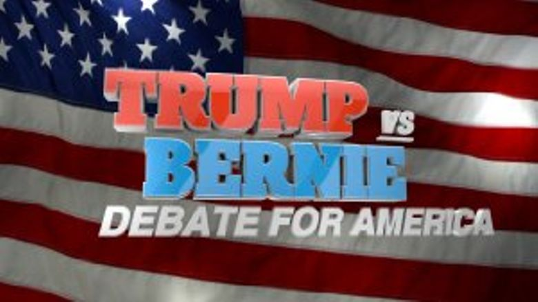 Trump vs. Bernie: Debate for America Poster