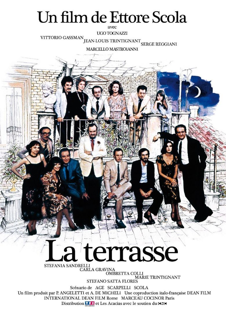 The Terrace Poster