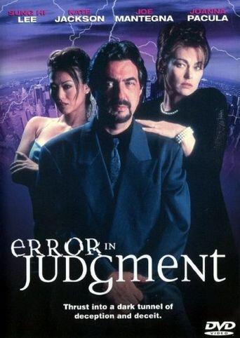 Error in Judgment Poster