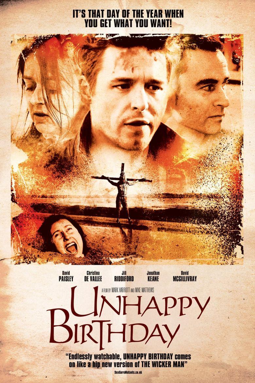 Unhappy Birthday Poster