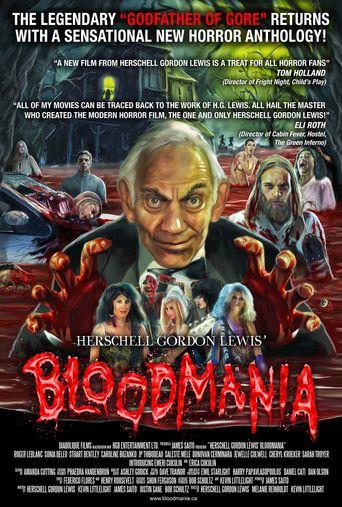 Herschell Gordon Lewis' BloodMania Poster