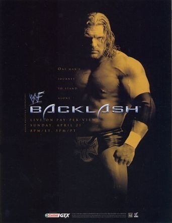 WWE Backlash 2002 Poster
