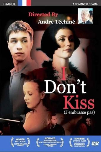 I Don't Kiss Poster