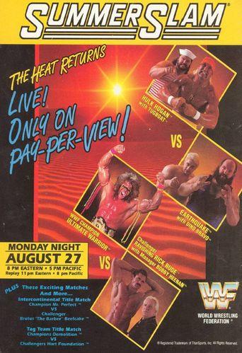 WWE SummerSlam 1990 Poster