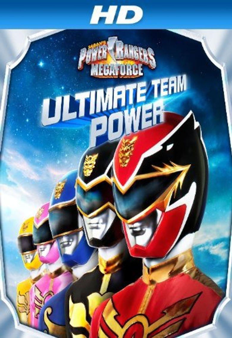 Power Rangers Megaforce: Ultimate Team Power Poster