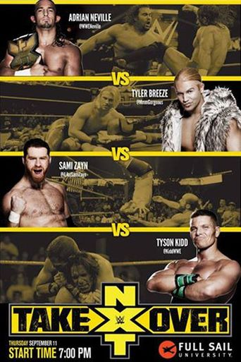 NXT TakeOver: Fatal 4-Way Poster