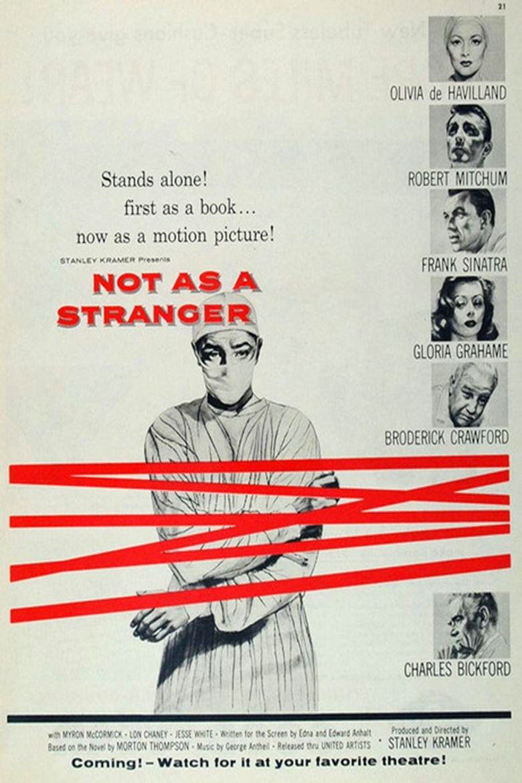 Not as a Stranger Poster