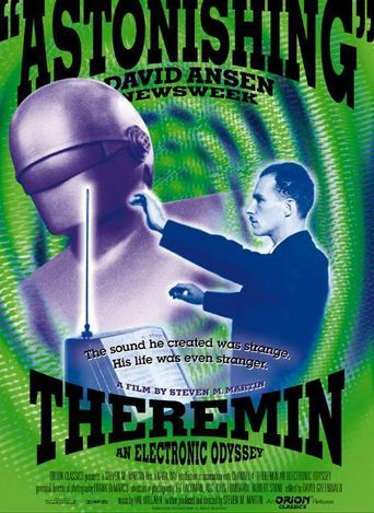 Theremin: An Electronic Odyssey Poster