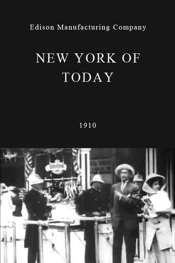 New York of Today Poster