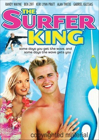 The Surfer King Poster