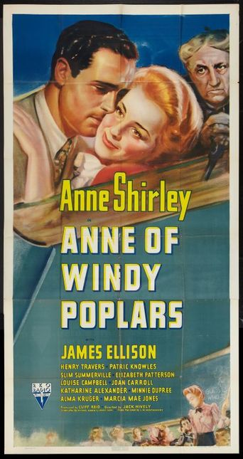 Anne of Windy Poplars Poster