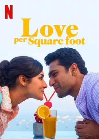 Love per Square Foot Poster