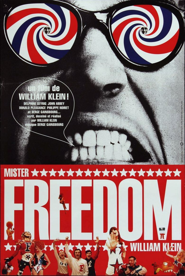 Mr. Freedom Poster