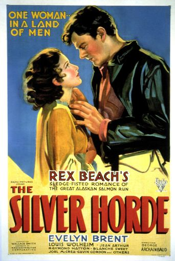 The Silver Horde Poster