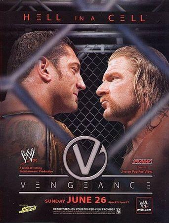 WWE Vengeance 2005 Poster