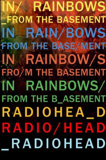 Radiohead: In Rainbows - From The Basement Poster