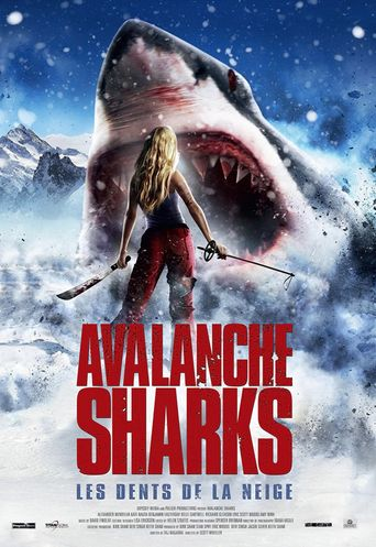 Avalanche Sharks Poster