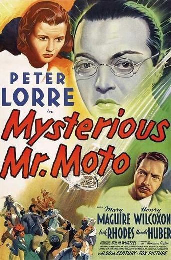 Mysterious Mr. Moto Poster